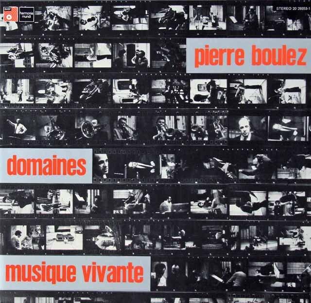 マッソンのブーレーズ/ドメーヌ 独HM 3270 LP レコード
