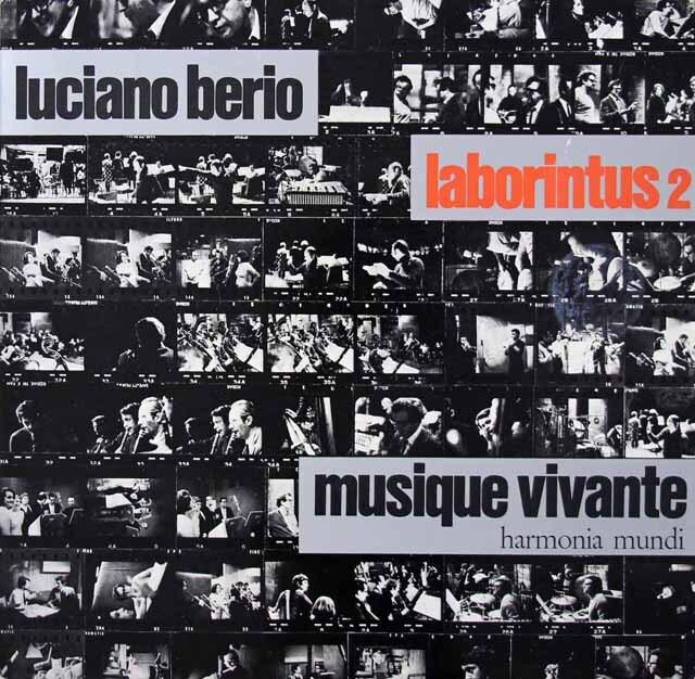 ベリオ自作自演/ラボリンタス第2 独HM 3270 LP レコード