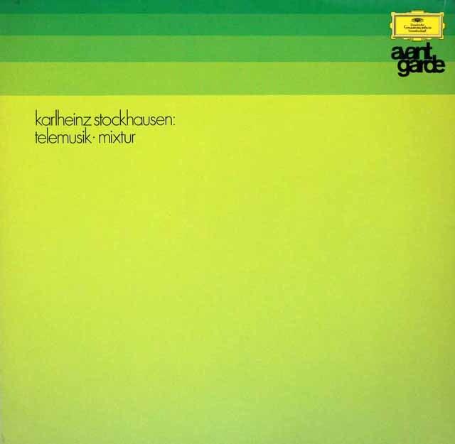 シュトックハウゼン/「テレムジーク」 独DGG 3270 LP レコード