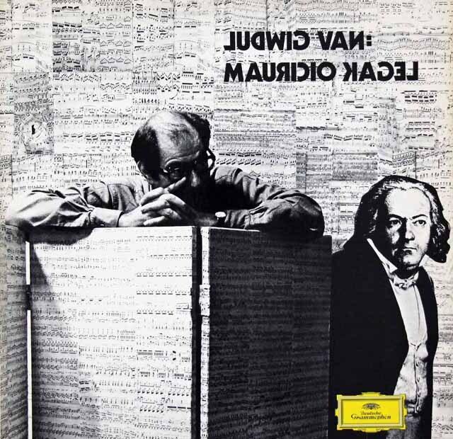カーゲル/ルートヴィヒ・ヴァン 独DGG 3270 LP レコード