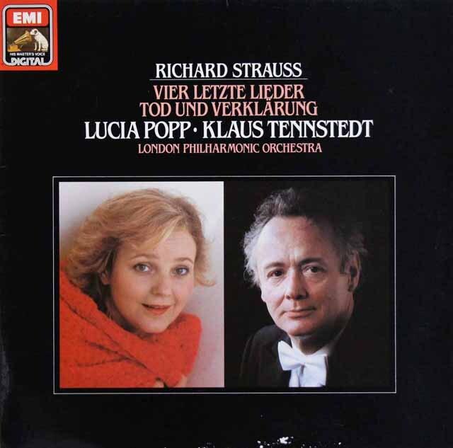 ポップ&テンシュテットのR.シュトラウス/4つの最後の歌ほか 独EMI 3301 LP レコード