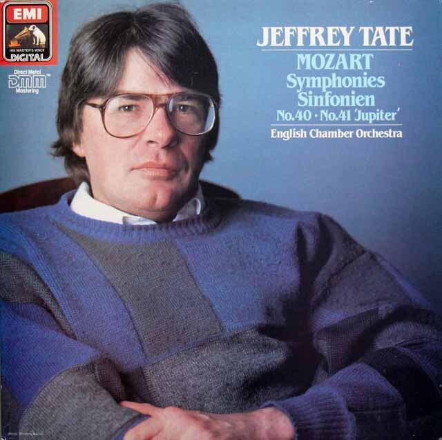 テイトのモーツァルト/交響曲第40&41番「ジュピター」  英EMI 3301 LP レコード