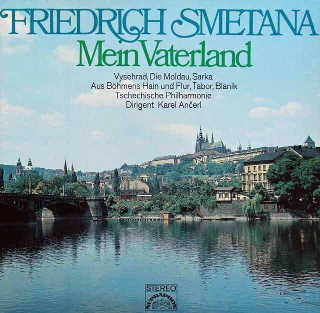 アンチェルのスメタナ/「わが祖国」全曲 独SUPRAHON 3301 LP レコード