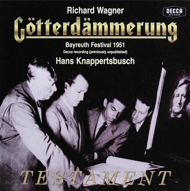 クナッパーツブッシュのワーグナー/「神々の黄昏」全曲 英DECCA 3301 LP レコード