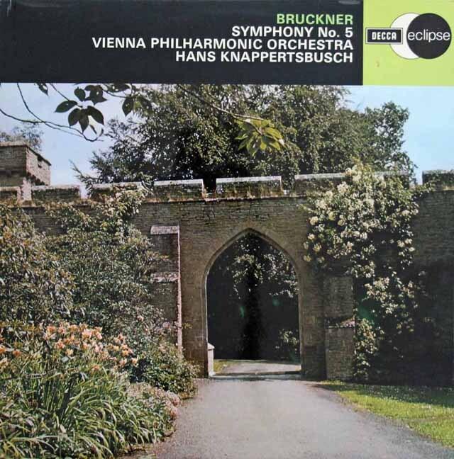 【オリジナル盤】 クナッパーツブッシュのブルックナー/交響曲第5番 英DECCA 3302 LP レコード