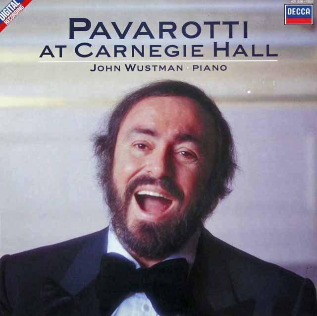 パヴァロッティ・アット・カーネギー・ホール 蘭DECCA 3302 LP レコード
