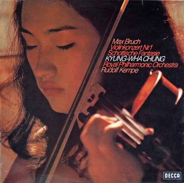 【テストプレス】 チョン&ケンペのブルッフ/ヴァイオリン協奏曲第1番ほか 独DECCA 3302 LP レコード