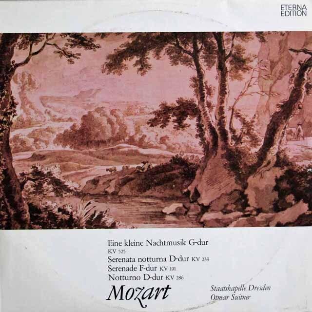 スウィトナーのモーツァルト/アイネ・クライネ・ナハトムジークほか 独ETERNA 3302 LP レコード