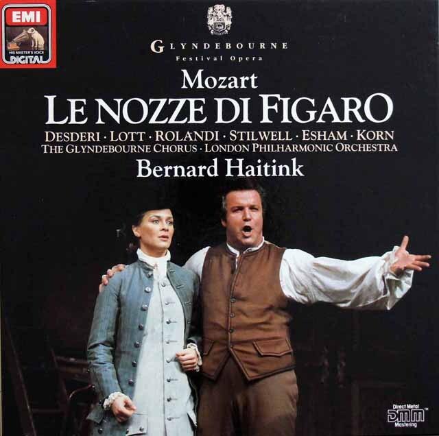 ハイティンクのモーツァルト/「フィガロの結婚」全曲 独EMI 3302 LP レコード