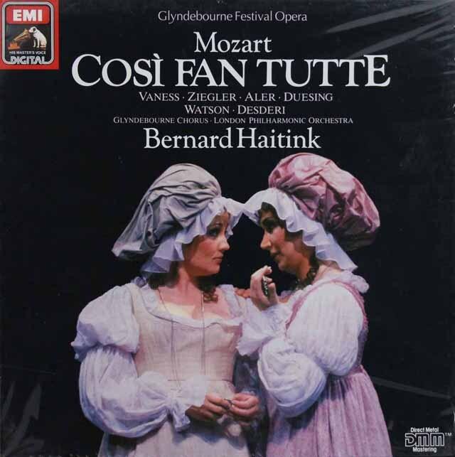 【未開封】 ハイティンクのモーツァルト/「コジ・ファン・トゥッテ」全曲 独EMI 3302 LP レコード