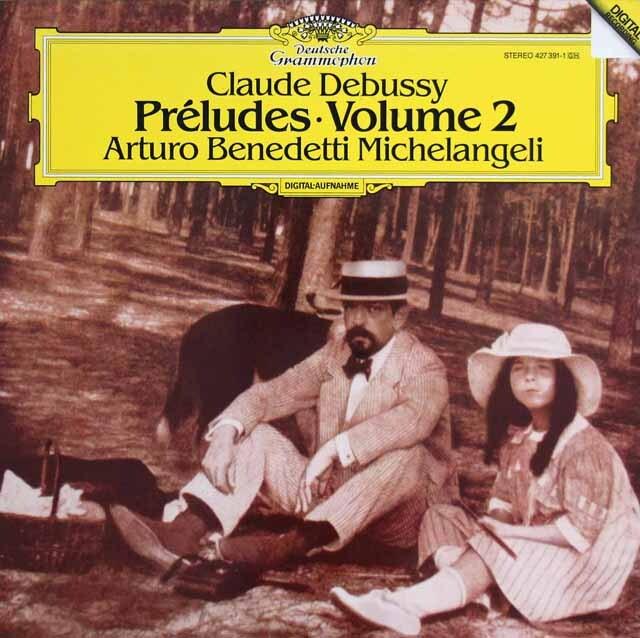 ミケランジェリのドビュッシー/前奏曲集第2巻 独DGG 3303 LP レコード