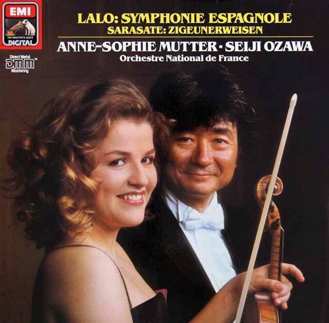 ムター&小澤のラロ/スペイン交響曲ほか 独EMI 3303 LP レコード