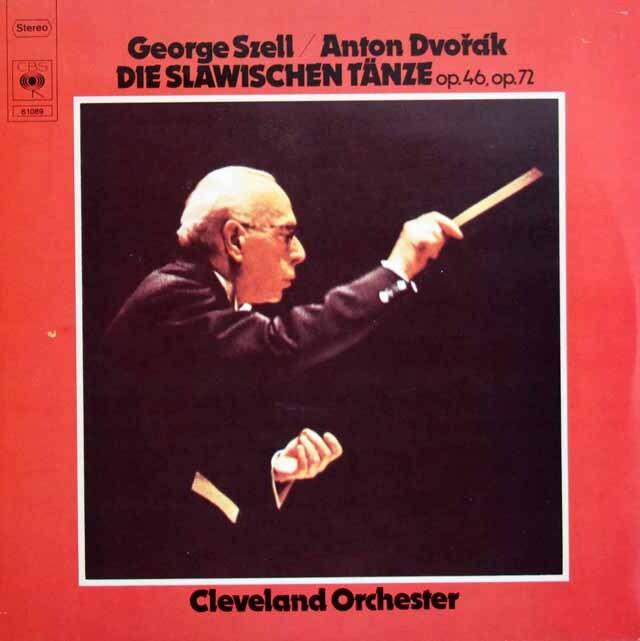 セルのドヴォルザーク/スラヴ舞曲集 独CBS 3303 LP レコード