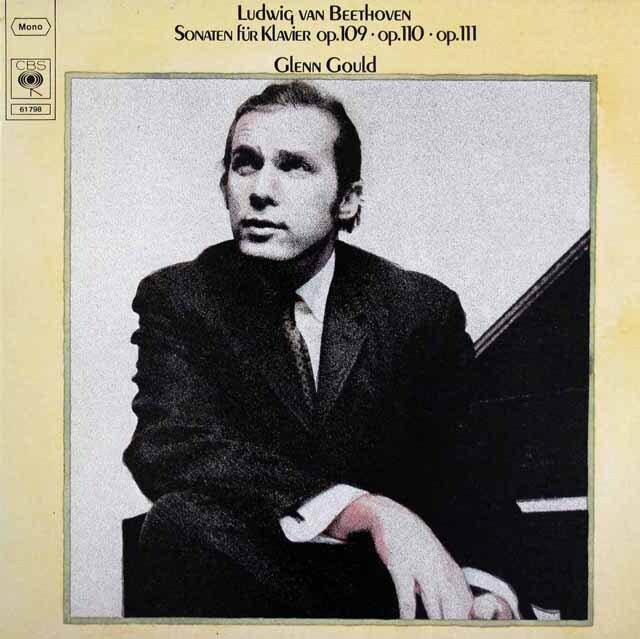 グールドのベートーヴェン/ピアノソナタ第30、31 & 32番 独CBS 3303 LP レコード
