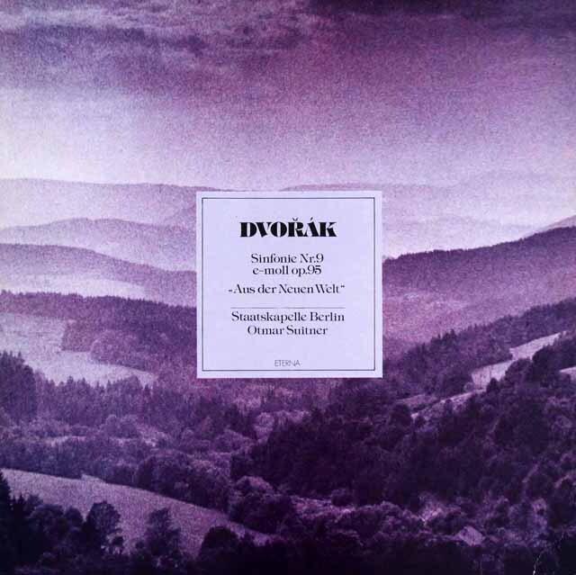 スウィトナーのドヴォルザーク/交響曲第9番「新世界より」 独ETERNA 3303 LP レコード