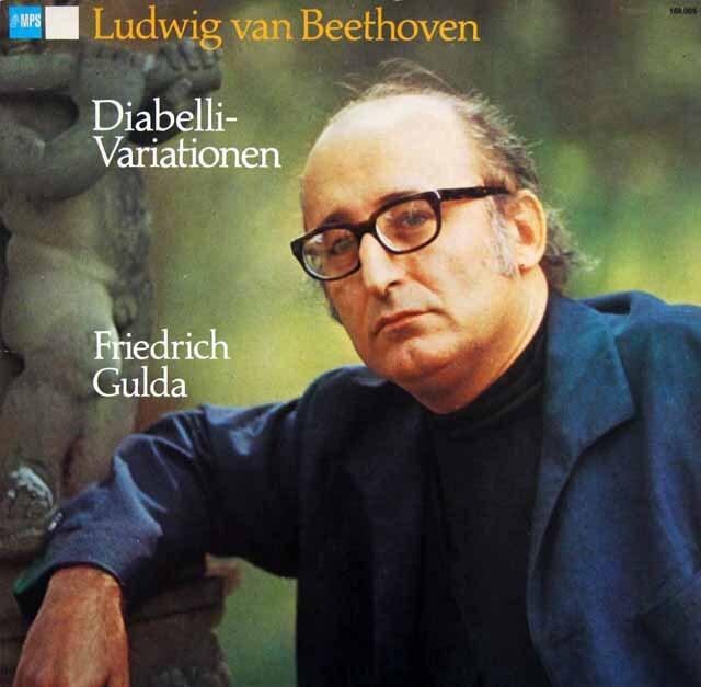 グルダのベートーヴェン/ディアベリ変奏曲 独MPS 3303 LP レコード