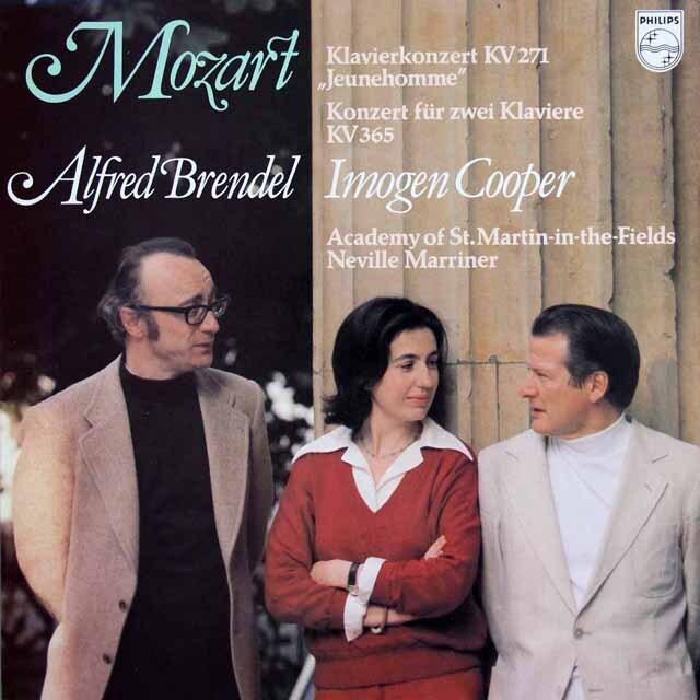 ブレンデルのモーツァルト/ピアノ協奏曲第9番「ジュノーム」ほか 蘭PHILIPS 3303 LP レコード