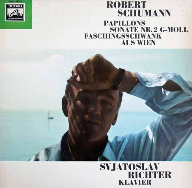 リヒテルのシューマン/「パピヨン」ほか 独EMI 3304 LP レコード