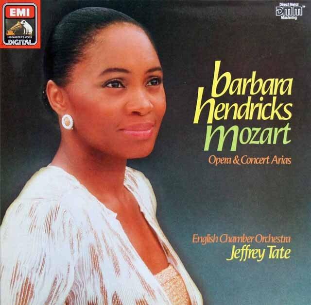 テイト&ヘンドリックスのモーツァルト/オペラ・アリア集 独EMI 3304 LP レコード