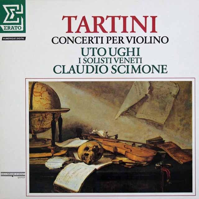 シモーネ&ウーギのタルティーニ/ヴァイオリン協奏曲集 仏ERATO 3304 LP レコード