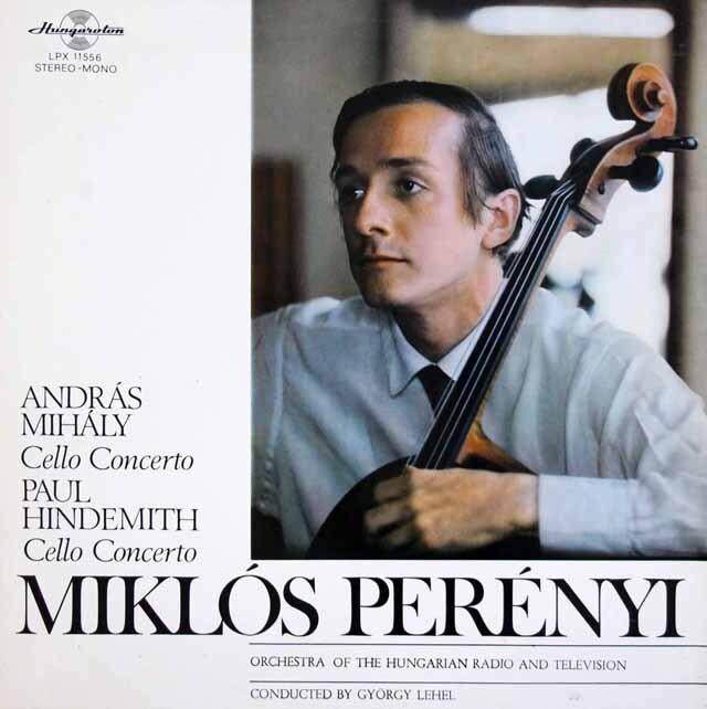 ペレーニのヒンデミット、ミハーイ/チェロ協奏曲集 ハンガリーQualiton 3304 LP レコード
