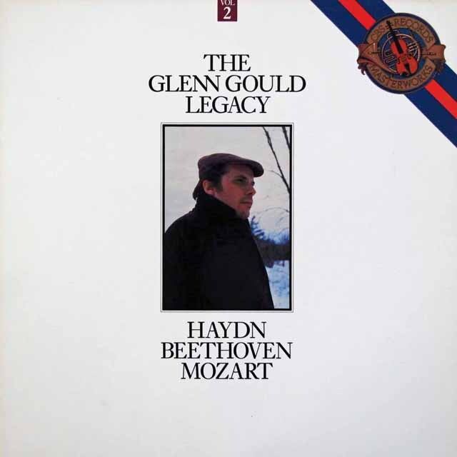 グールドの遺産 第2巻 (ベートーヴェン、ハイドン、モーツァルト) 蘭CBS 3304 LP レコード