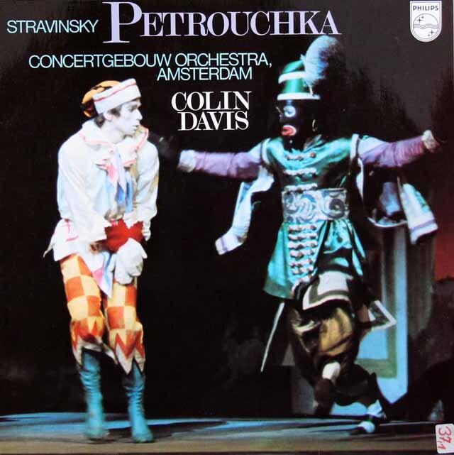 デイヴィスのストラヴィンスキー/「ペトルーシュカ」 蘭PHILIPS 3304 LP レコード