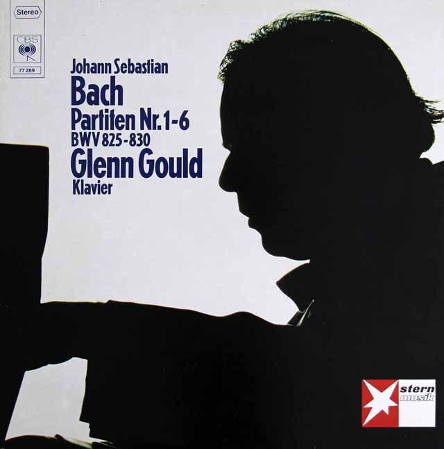 グールドのバッハ/パルティータ集 独CBS 3305 LP レコード