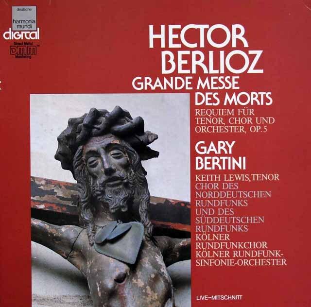 ベルティーニのベルリオーズ/「死者のための大ミサ曲」   独HM 3305 LP レコード