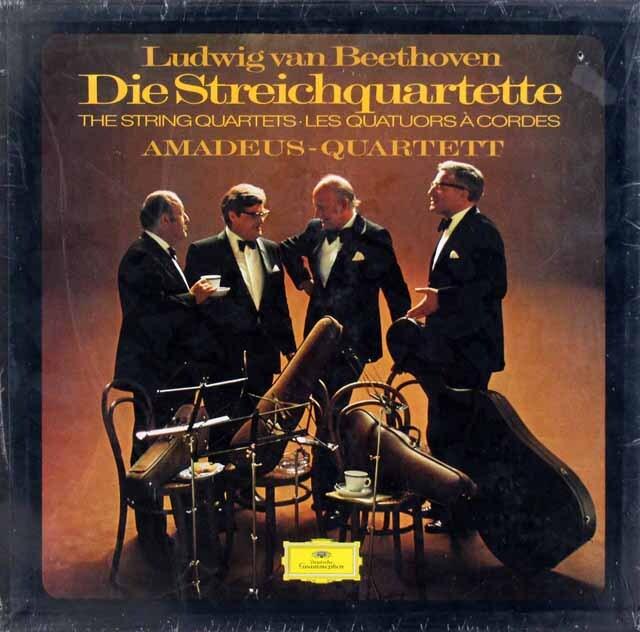 【未開封】アマデウス四重奏団のベートーヴェン/弦楽四重奏曲全集 独DGG 3305 LP レコード