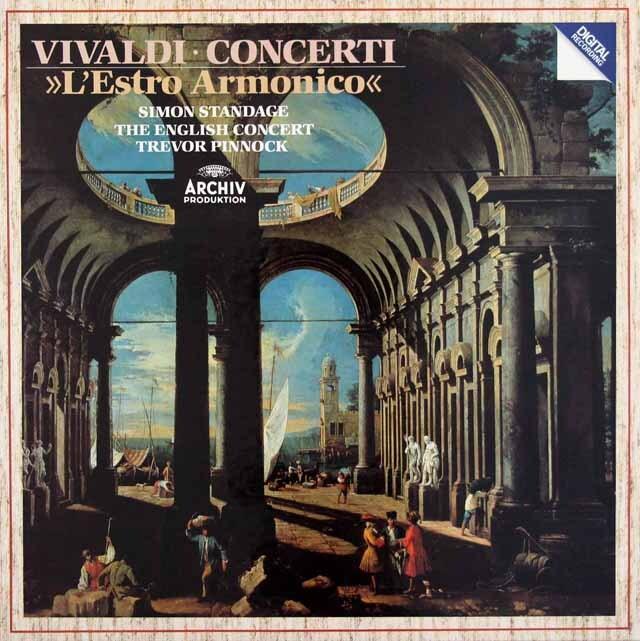 ピノックのヴィヴァルディ/「調和の霊感」 独ARCHIV 3305 LP レコード