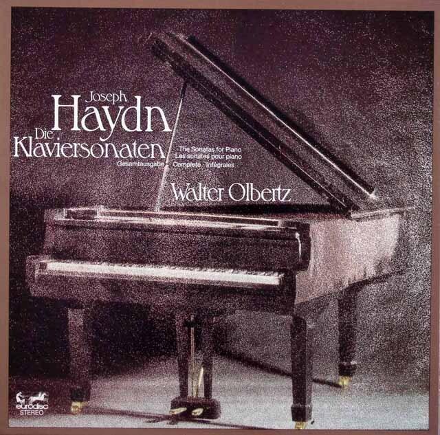 オルベルツのハイドン/ピアノソナタ全集 独eurodisc 3305 LP レコード