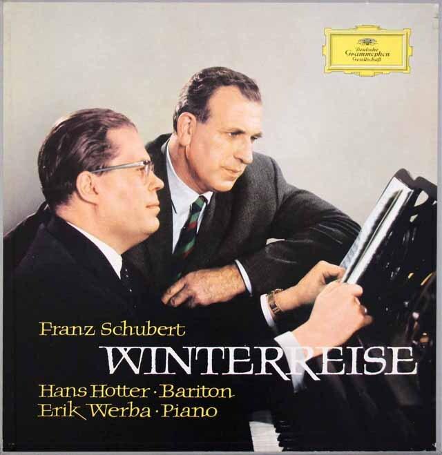 【独最初期盤】 ホッターのシューベルト/「冬の旅」 独DGG 3305 LP レコード