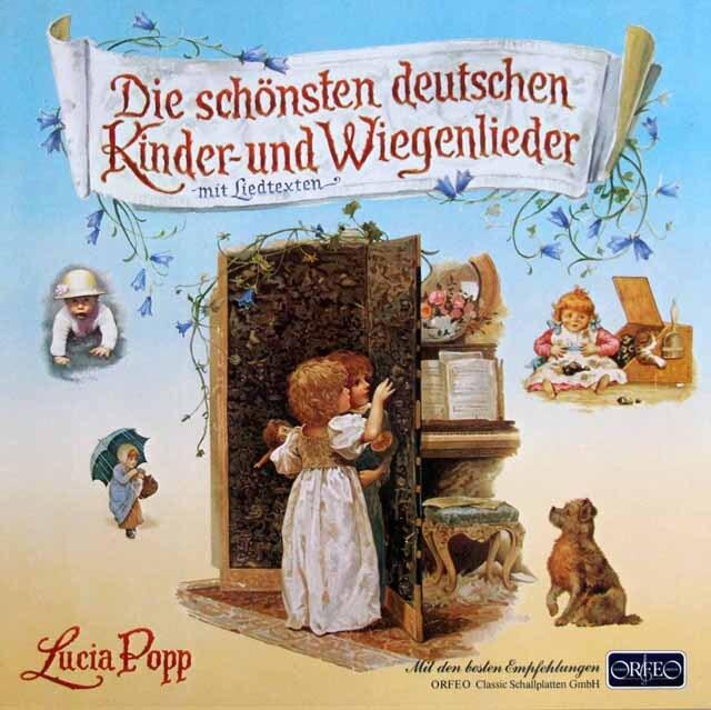 ポップのドイツの子供の歌と子守唄 独ORFEO 3306 LP レコード