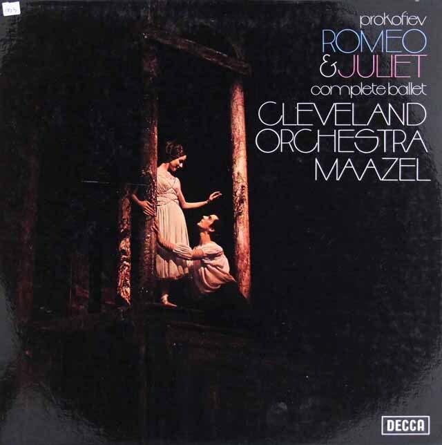 【オリジナル盤】 マゼールのプロコフィエフ/「ロメオとジュリエット」 英DECCA 3306 LP レコード