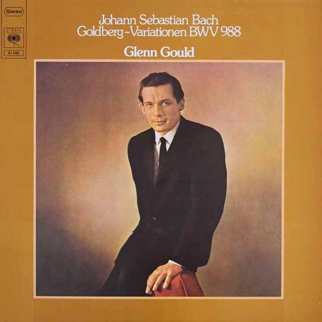 グールドのバッハ/ゴルトベルク変奏曲 独CBS 3306 LP レコード