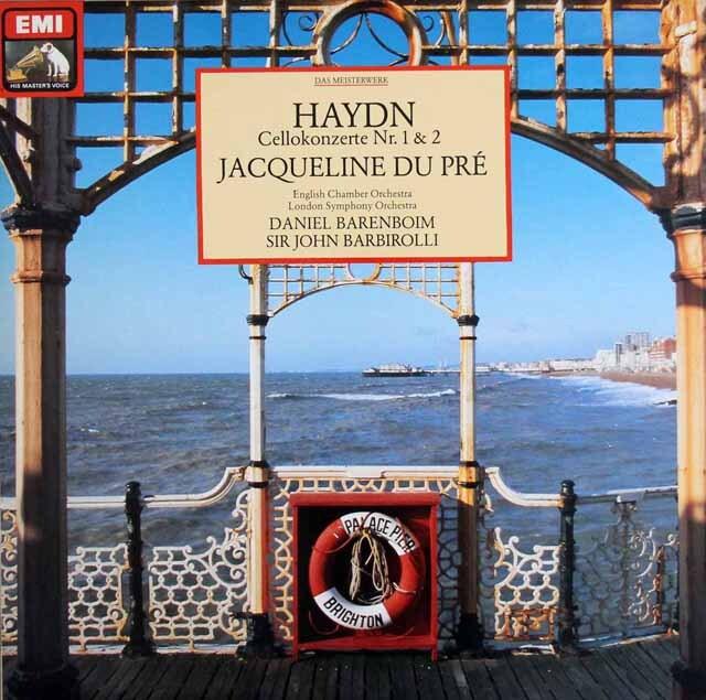デュ・プレのハイドン/チェロ協奏曲第1、2番 独EMI 3306 LP レコード