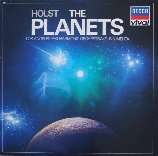 メータのホルスト/「惑星」  独DECCA 3307 LP レコード