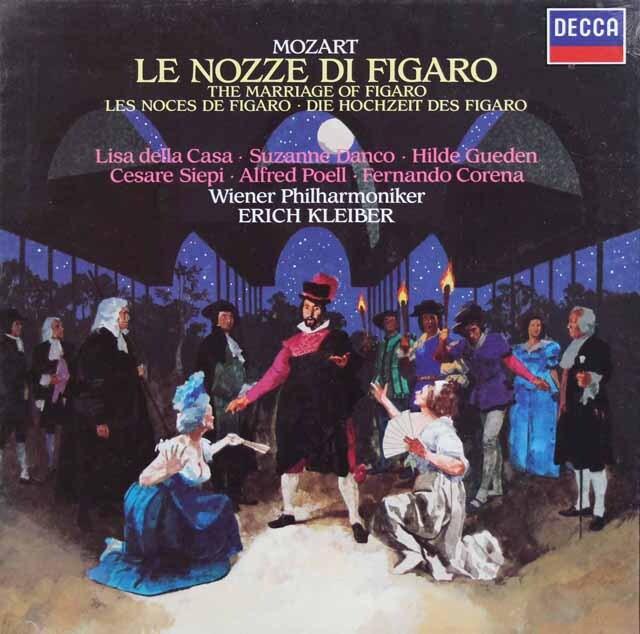 【未開封】エーリヒ・クライバーのモーツァルト/「フィガロの結婚」全曲 蘭DECCA 3307 LP レコード