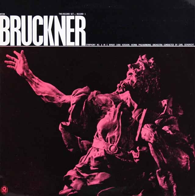 シューリヒトのブルックナー/交響曲第8番  豪WRC  3307 LP レコード