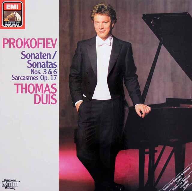 デュイスのプロコフィエフ/ピアノソナタ第3、6番ほか 独EMI 3308 LP レコード