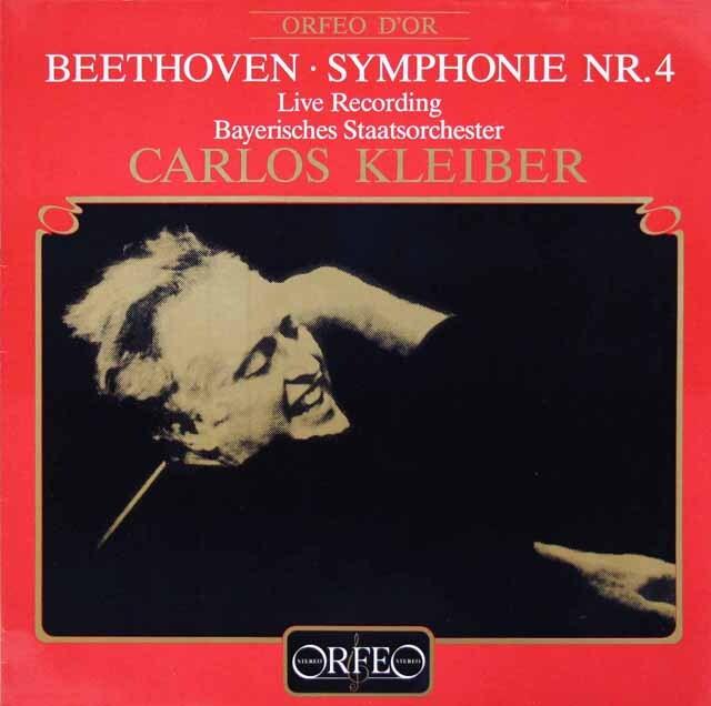 クライバーのベートーヴェン/交響曲第4番 独ORFEO 3308 LP レコード