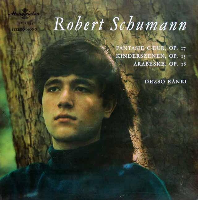 ラーンキのシューマン/「子供の情景」ほか ハンガリーHungaroton 3309 LP レコード