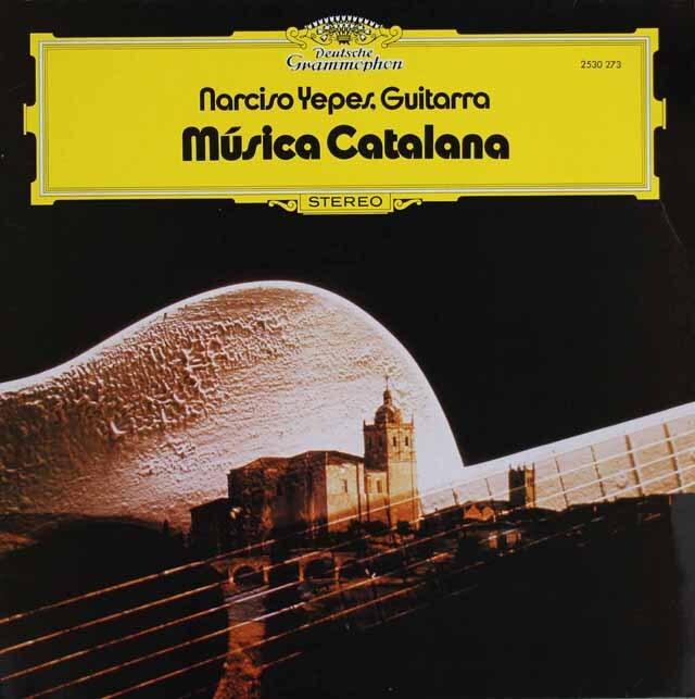 イエペス/カタロニア民謡を弾く 独DGG 3309 LP レコード