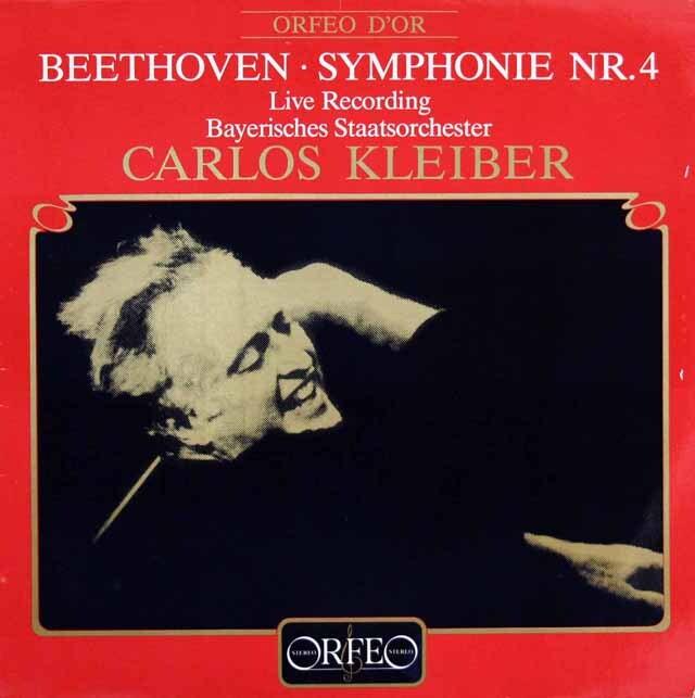 クライバーのベートーヴェン/交響曲第4番 独ORFEO 3309 LP レコード