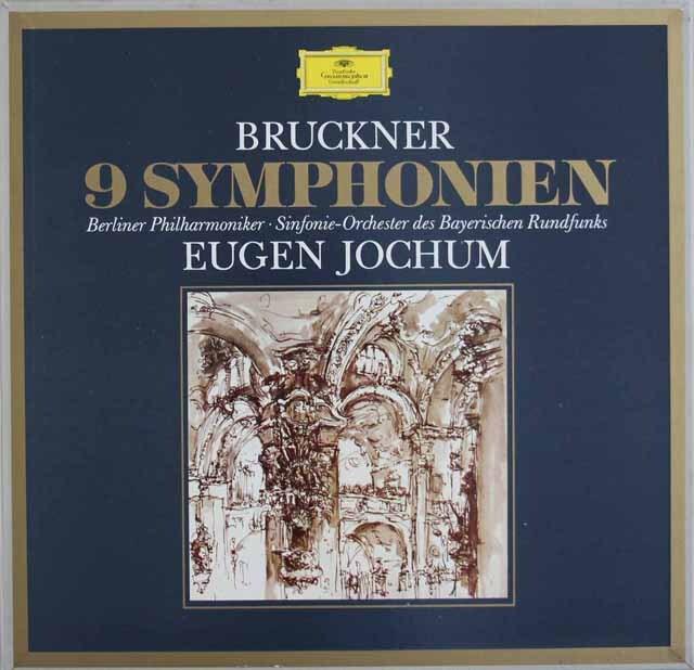 ヨッフムのブルックナー/交響曲全集(第1番~9番) 独DGG 3309 LP レコード