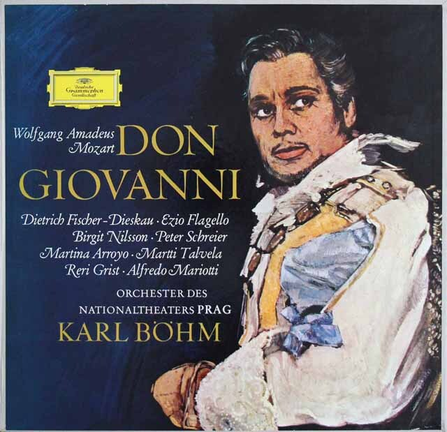 ベームのモーツァルト/「ドン・ジョヴァンニ」全曲  独DGG 3309 LP レコード
