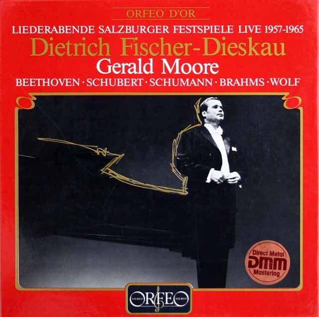 F=ディースカウのザルツブルク音楽祭 独ORFEO 3309 LP レコード