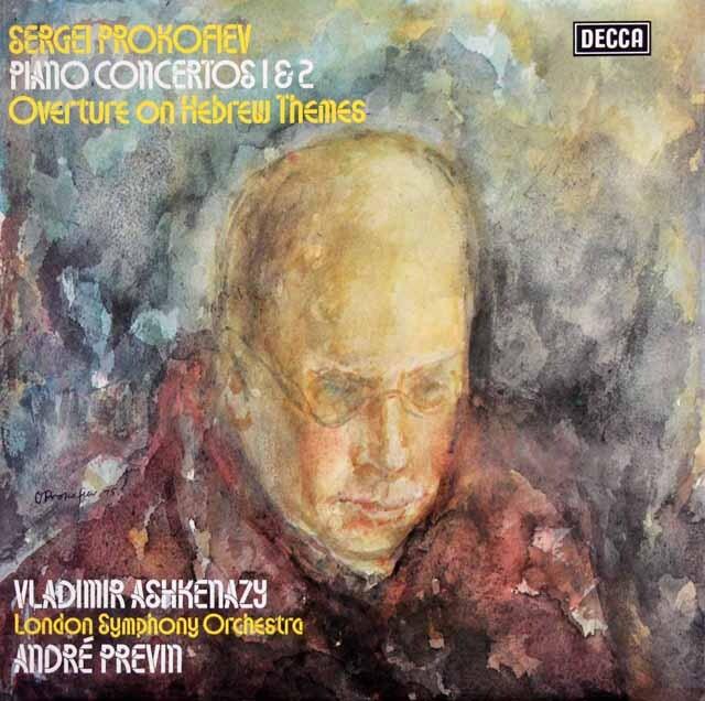 【オリジナル盤】 アシュケナージ&プレヴィンのプロコフィエフ/ピアノ協奏曲第1&2番 英DECCA 3310 LP レコード