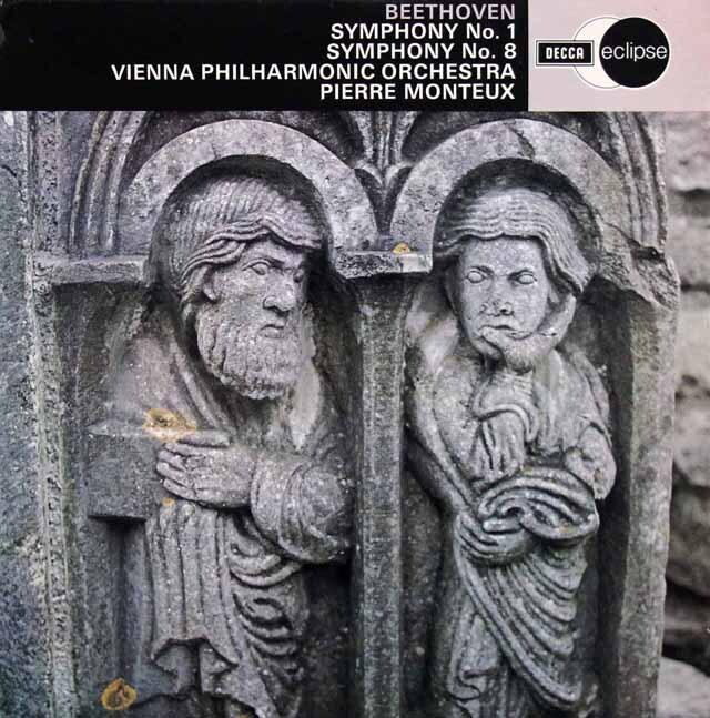 モントゥーのベートーヴェン/交響曲第1、8番 英DECCA 3310 LP レコード